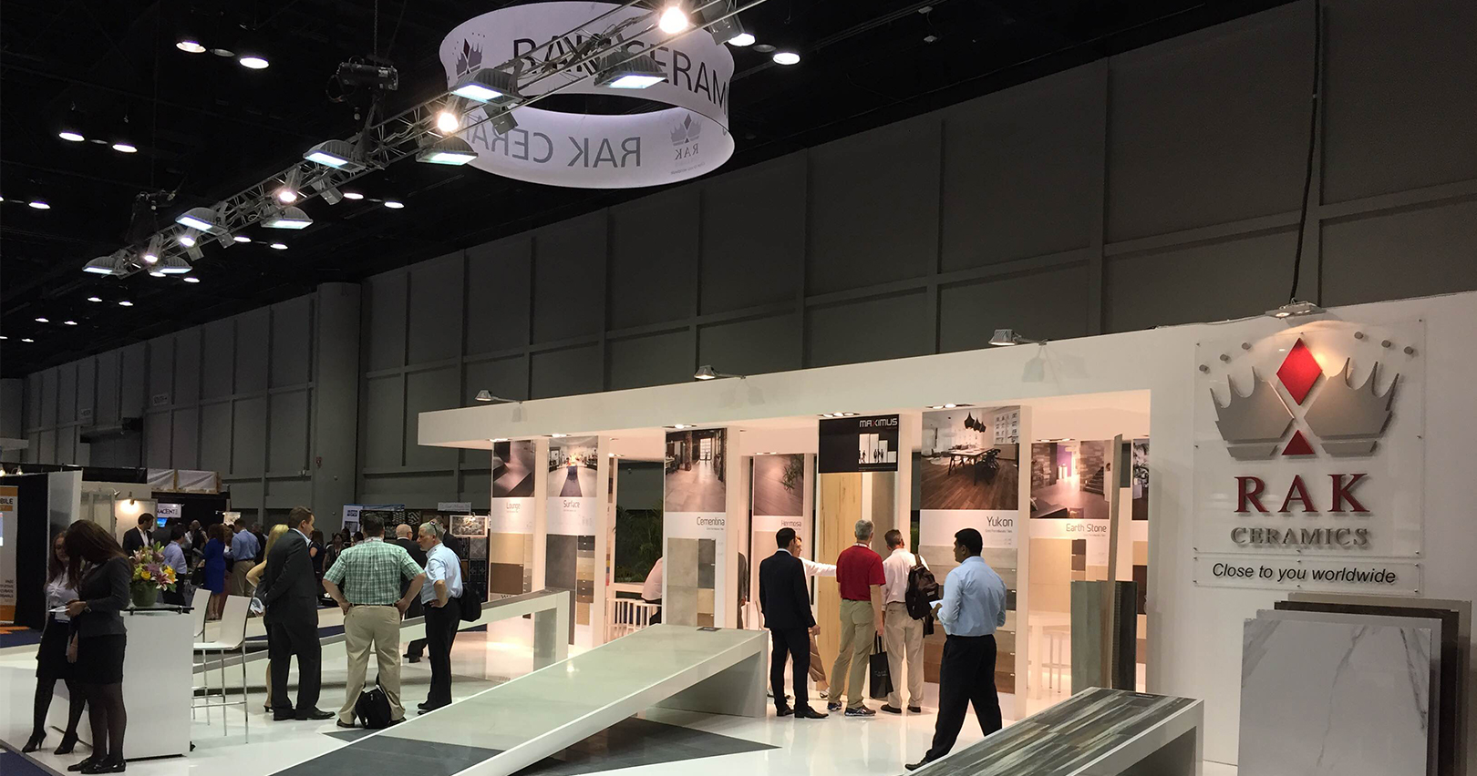 RAK Ceramics extends global presence with first time participation in American COVERINGS EXHIBITION 2015