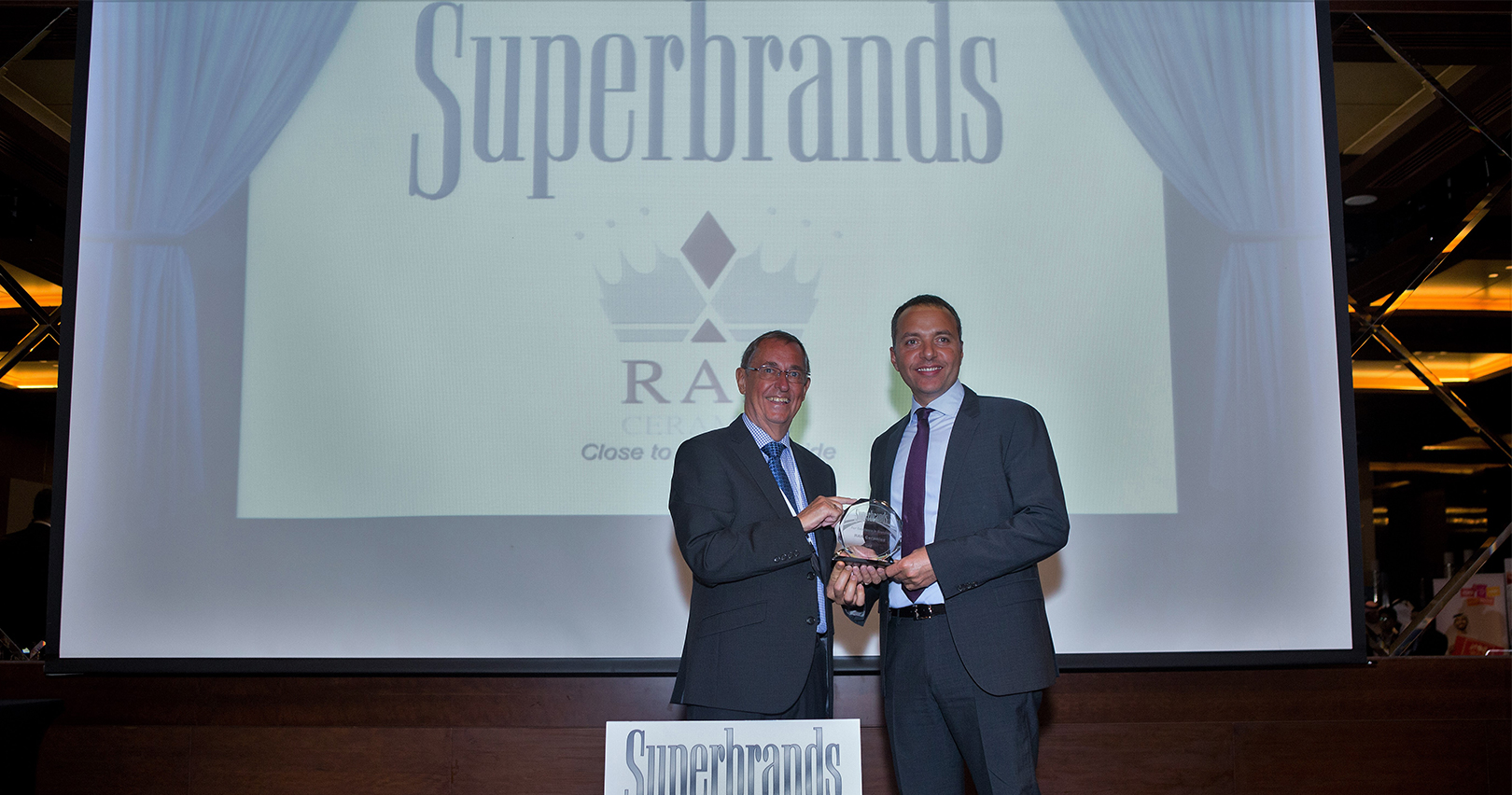 RAK Ceramics voted as a Superbrand for the seventh consecutive year