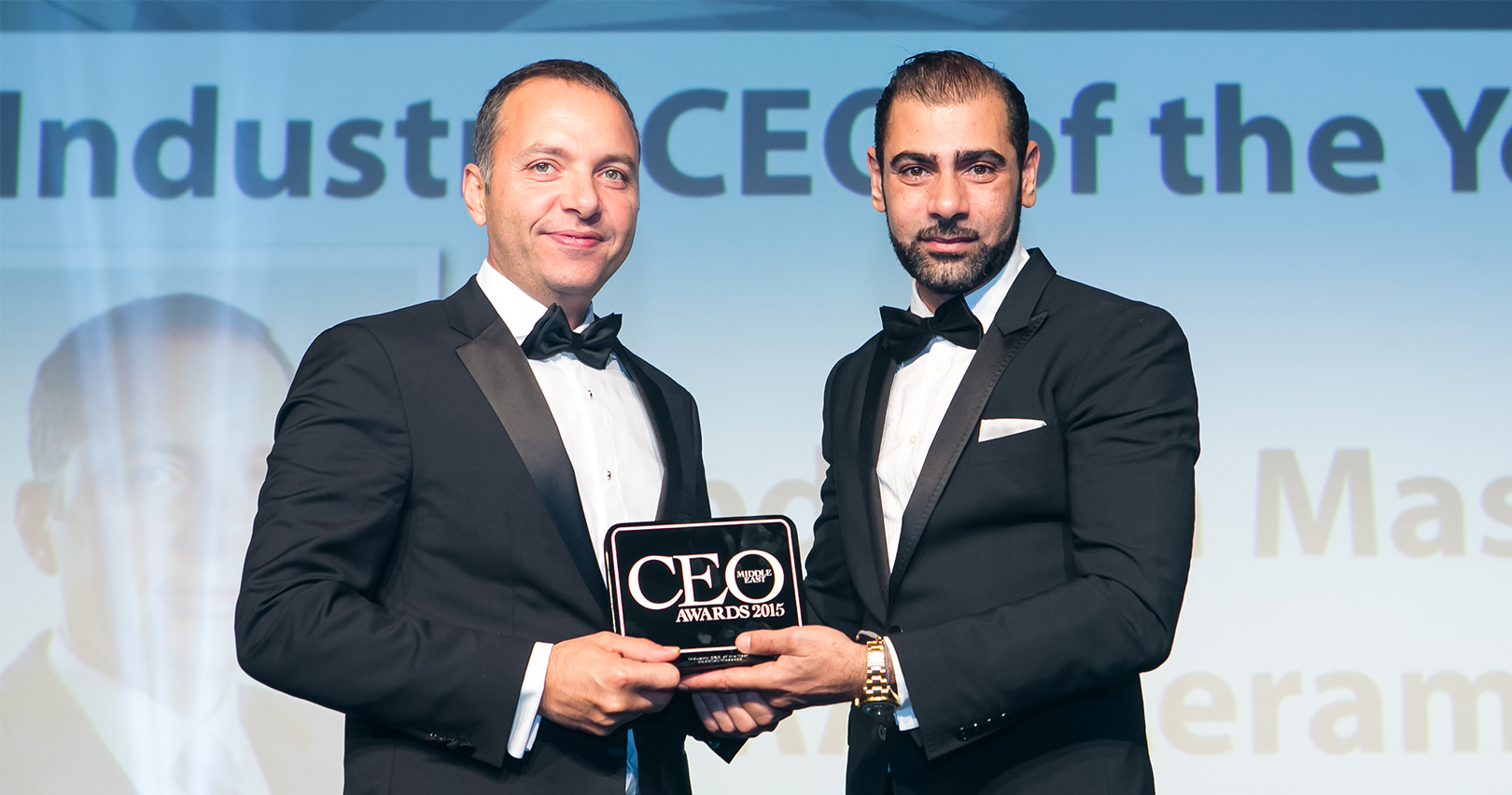 Abdallah Massaad Awarded Industry CEO of the Year by Arabian Business