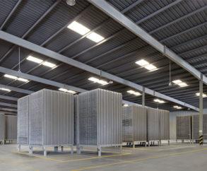 Tiles Plant Storage Area