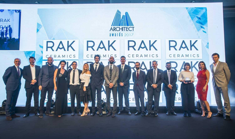RAK Ceramics sponsors  the 10th Middle East Architect Awards