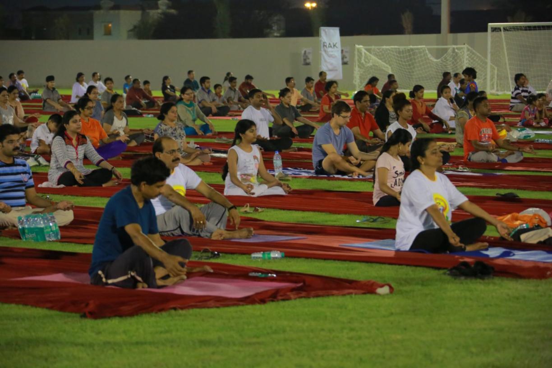 RAK Ceramics Sponsors  International Day of Yoga